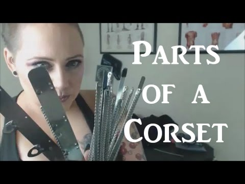 Parts of a Corset - Identifying Quality Components in Real Corsets