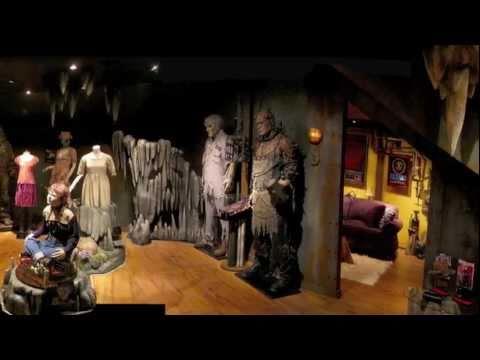 Man Cave Custom Horror Home Theater Youtube
