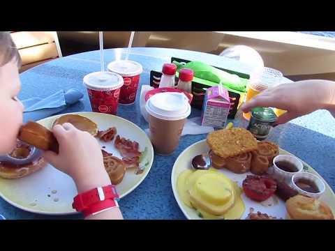 Eating Breakfast At Cabana's On The Disney Dream