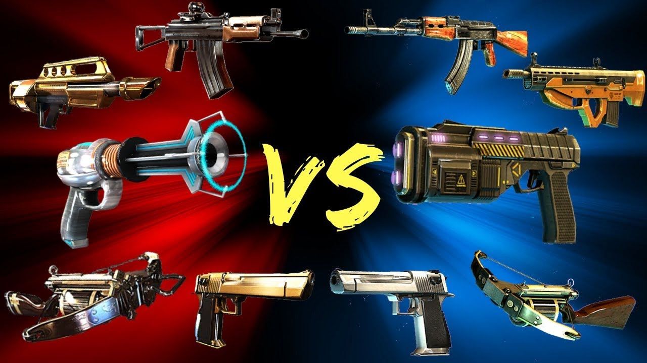 Dead Trigger 2 Vs Unkilled All Weapons Youtube