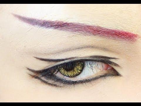 Tutorial Anime Eye Makeup 35 Youtube