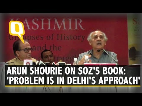 Saifuddin Soz's book launch: Does Delhi need to change its approach on Kashmir? | The Quint