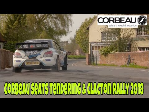 Corbeau Seats Tendering & Clacton Rally 2018