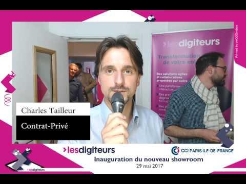 Elecom à l'inauguration du showroom des Digiteurs - CCI Paris Île-de-France