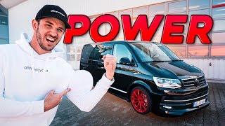 VW T6 DA-Team Bus   Der Bulli bekommt Power!   Daniel Abt
