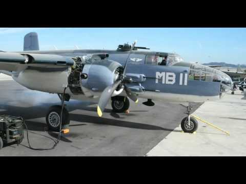 PBJ-1 Engine Start Up (2nd time)