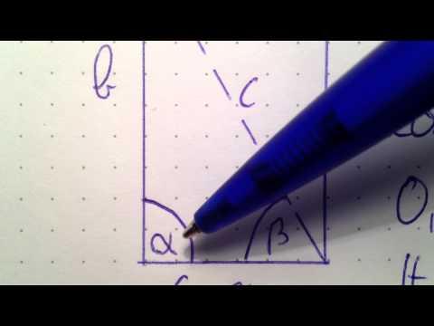 diagonale eines rechtecks berechnen mathe leicht gemacht youtube. Black Bedroom Furniture Sets. Home Design Ideas
