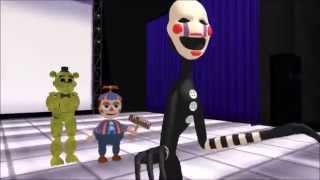 (MMD x FNAF)Drop it low (puppet/marionnette)