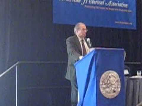 AHA 2008:  Norman J. Ornstein