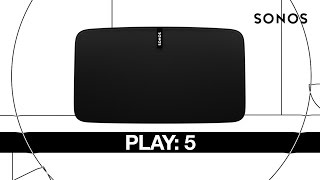 SONOS Play 5 Gen2 - Black - The Speaker for Studio-Quality Sound