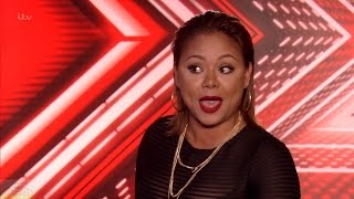 The X Factor UK Week 3 Auditions Ivy Grace Paredes Full Clip S13E06