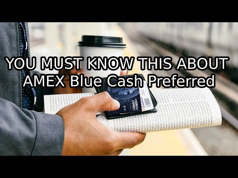 6% Back On Groceries! Watch Before You Get AMEX Blue Cash Preferred!
