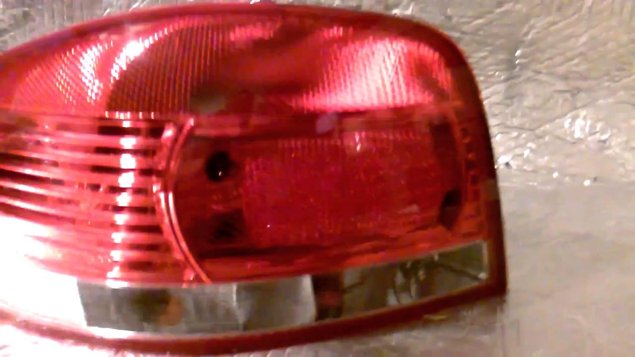 Lewa Lampa Tył Audi A3 Youtube