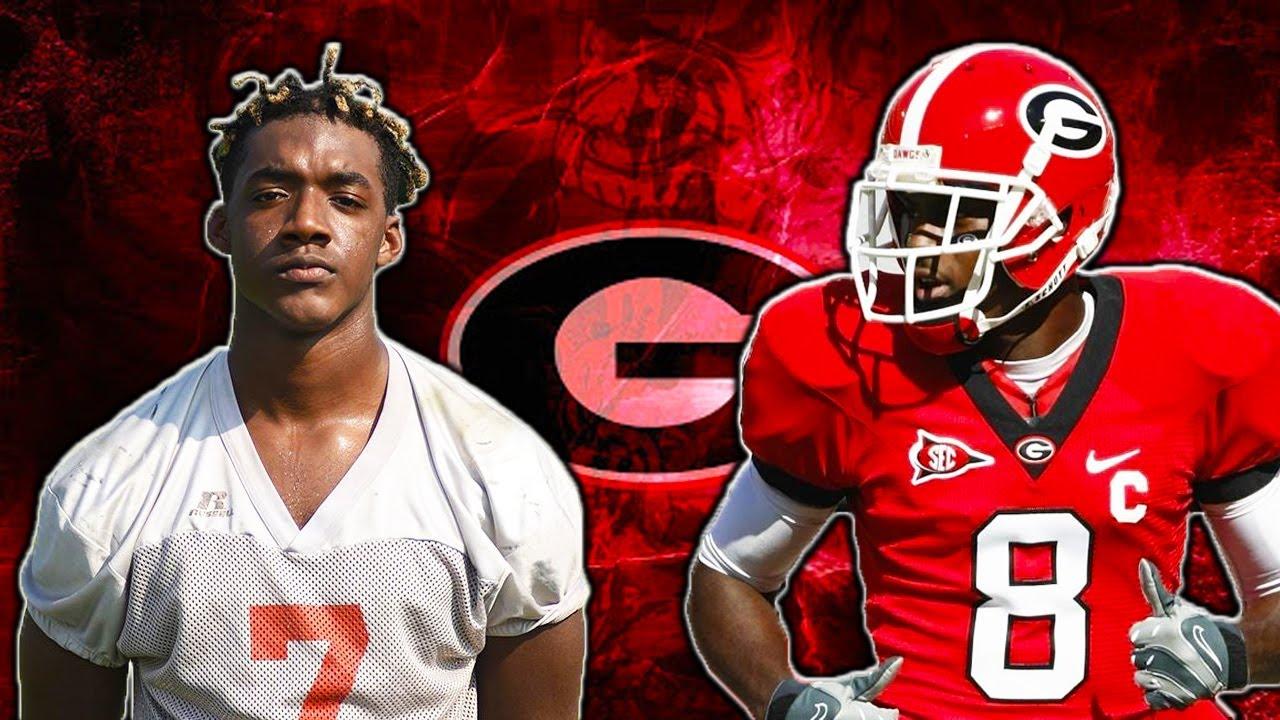 A.J. Green Georgia Bulldogs Football Jersey Red