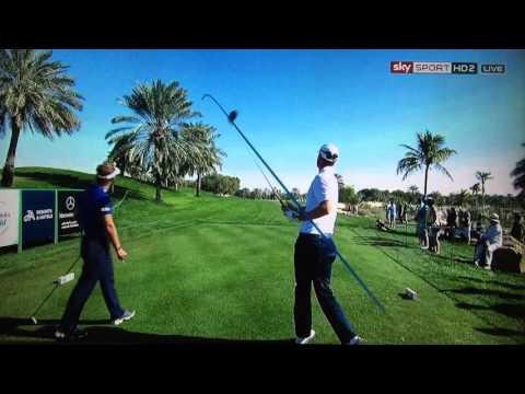 Golf ProTracer Compilation - Omega Dubai Desert Classic 2016 Rd 1-4.