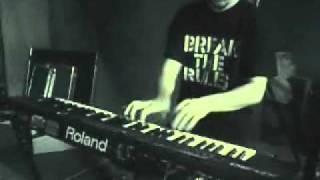 "Vesania rehearsal, ""God The Lux"", 2005"