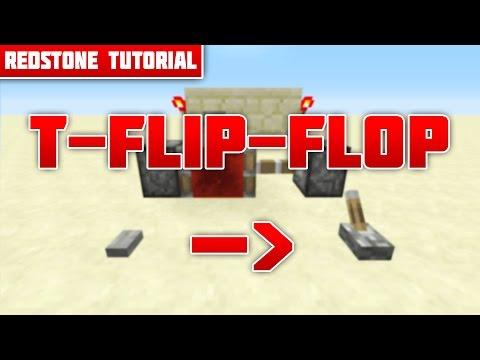 T Flip Flop (Knopf in Hebel verwandeln) [Tutorial] (Minecraft Xbox 360/One Ps3/4 Pc)