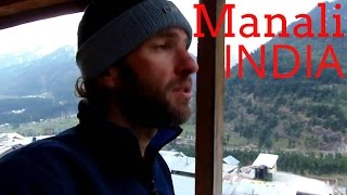 My $4 hotel room in Manali, India & Himalaya views
