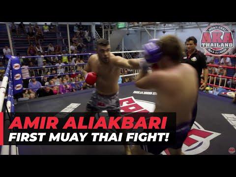 Amirali Akbari AKA Thailand wins decision at Bangla Boxing Stadium