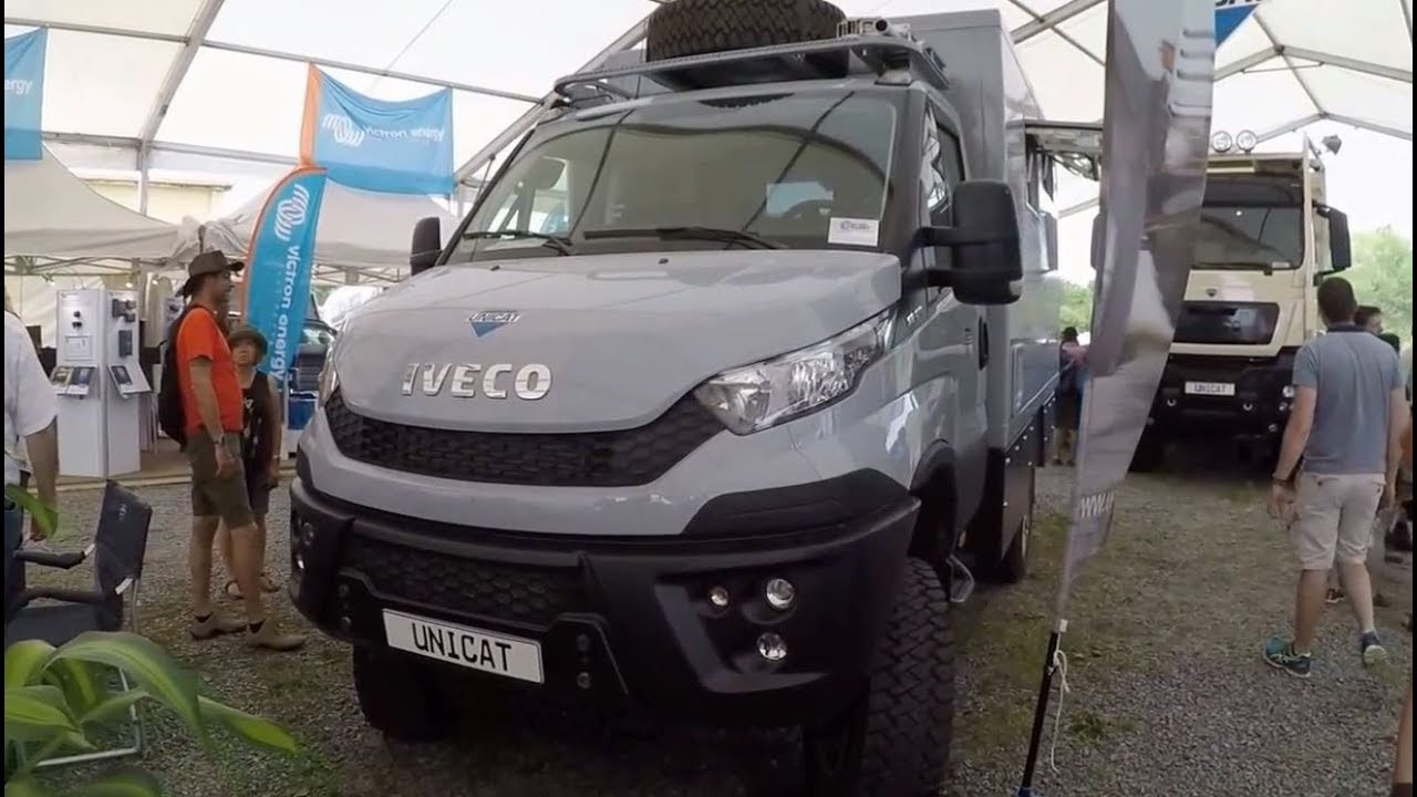 iveco daily 4x4 55 170 expedition vehicle cl36 by unicat model 2017 walkaround youtube. Black Bedroom Furniture Sets. Home Design Ideas