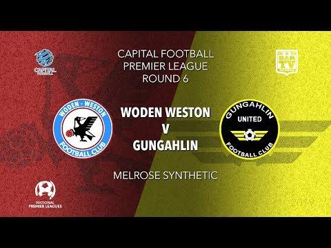 019 Capital Football Premier League - U20's Round 6 - Woden Weston FC v Gungahlin United FC