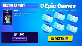 GET YOUR FREE REFUNDING TICKETS on FORTNITE!