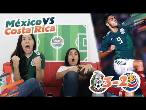 Reacción al MÉXICO vs COSTA RICA. ¡REMONTAMOS  y golazo del Pocho Guzmán! | Dúo Dinámico