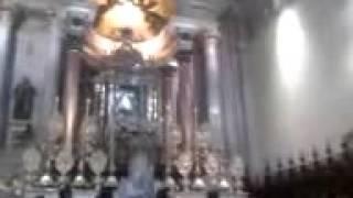 Aparicion de un angel en la iglesia de  san juan de los lagos