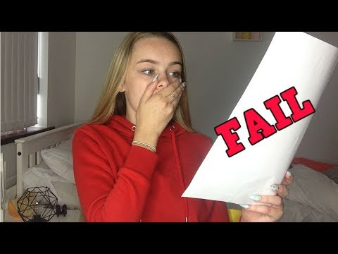 OPENING MY GCSE RESULTS ON CAMERA