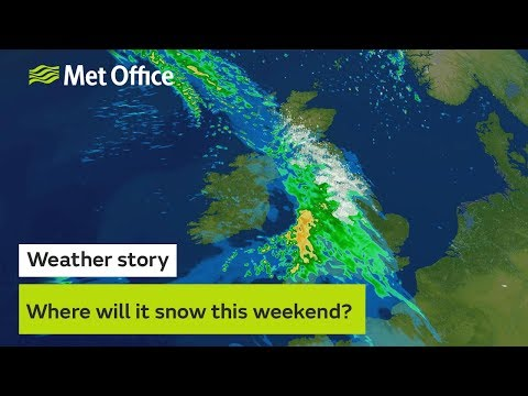 Where will it snow this weekend?