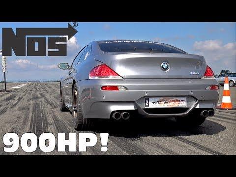 900HP BMW M6 V10 Compressor + NITROUS!
