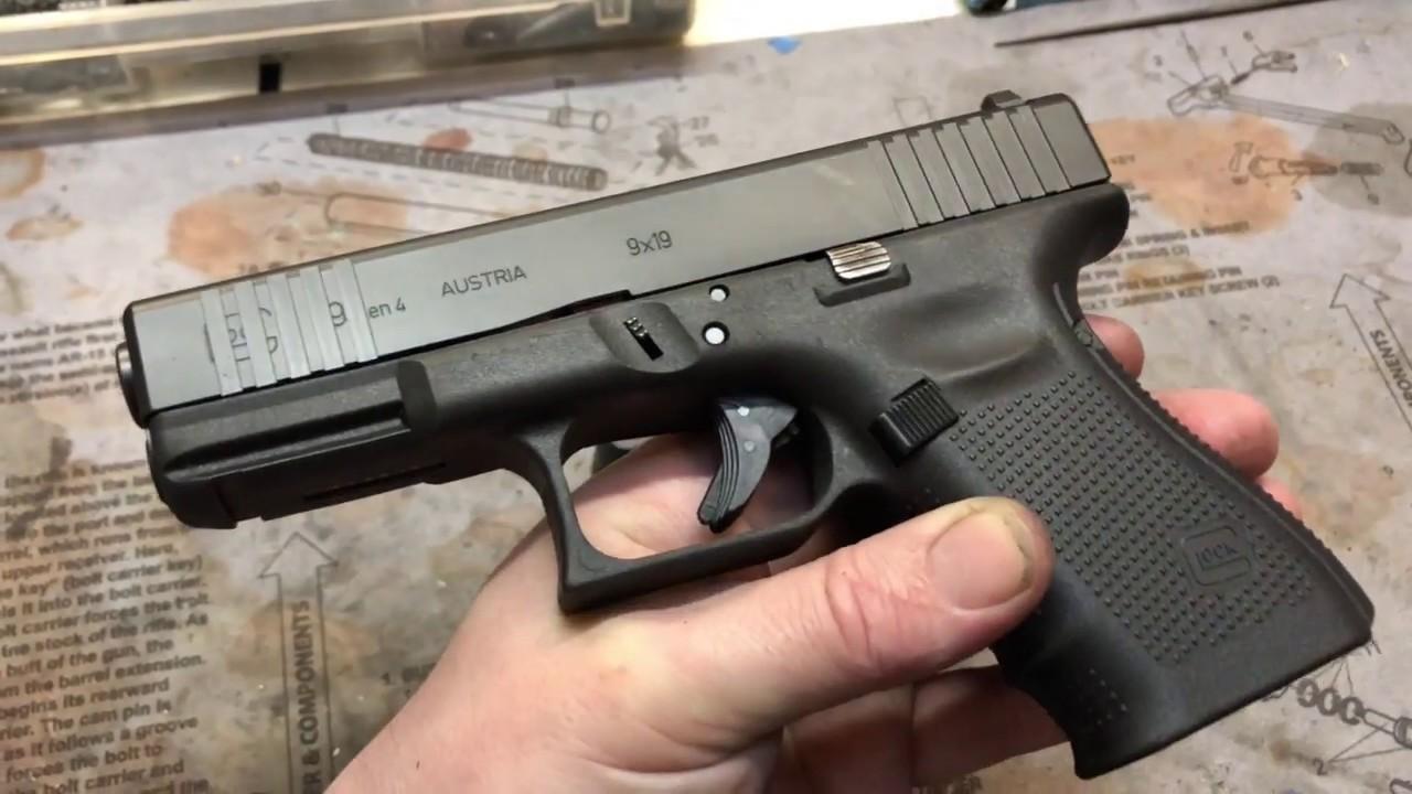Glock 19 Gen 4 with Light Mods - YouTube