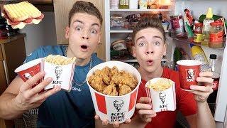 Wir essen 1 Tag lang wie ein ZUSCHAUER Teil 2 (mit KFC Menü)