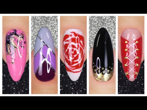 easy nail art designs 2020  nails art for beginners  youtube