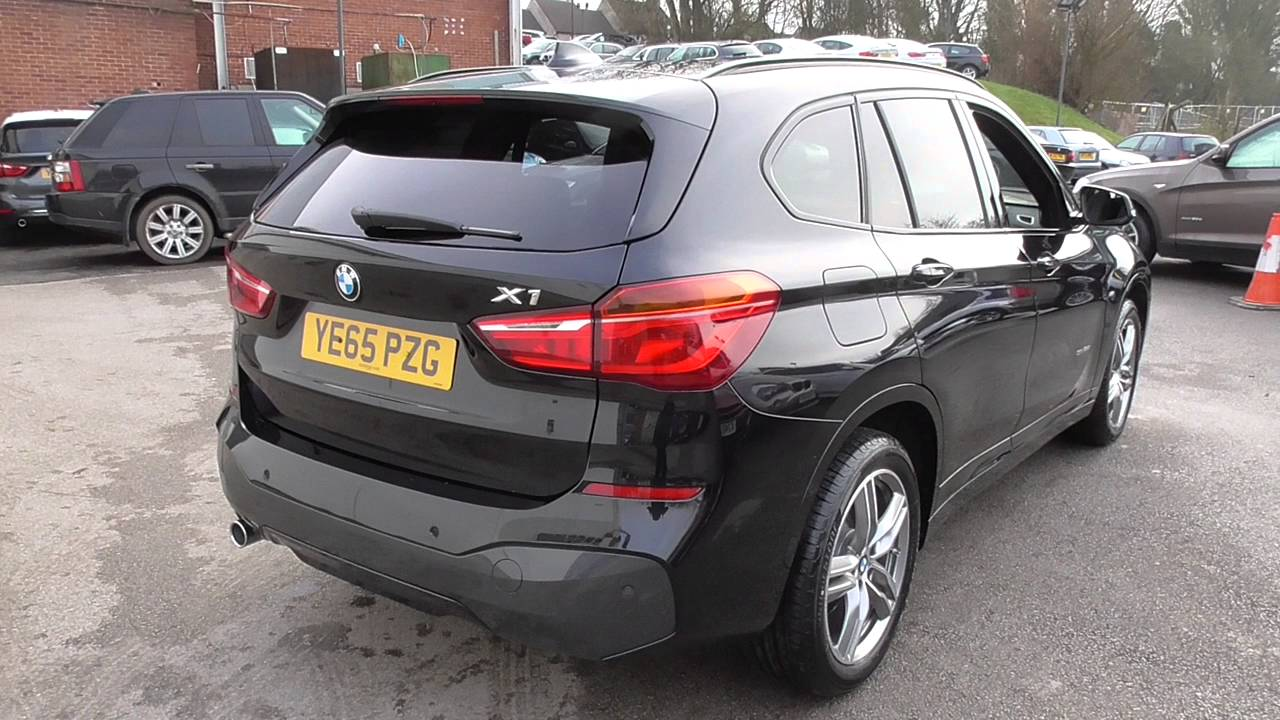 bmw x1 sdrive 18d m sport 5dr u28472 youtube. Black Bedroom Furniture Sets. Home Design Ideas