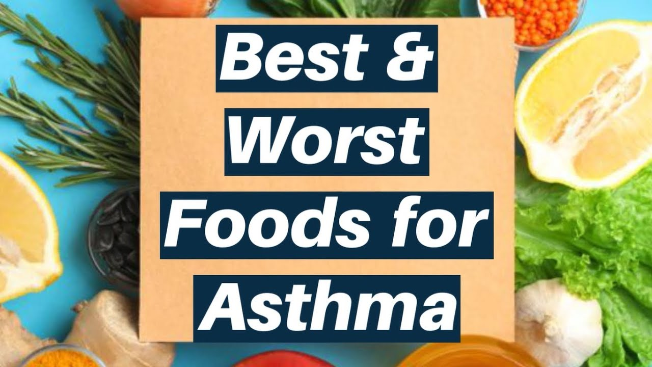 what is best food diet for astma