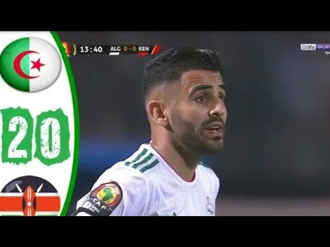 Algeria and Kenya 2-0 ⚡ MATCH Goals & HighLights 🔥 Africa Cup of Nations 2019 🏆