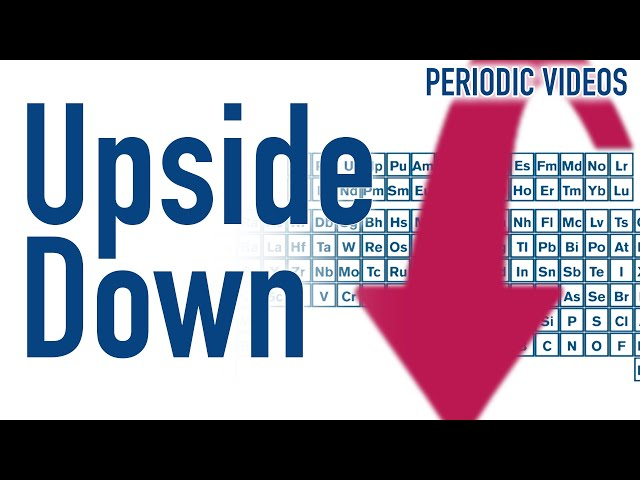 Is the Periodic Table Upside Down?