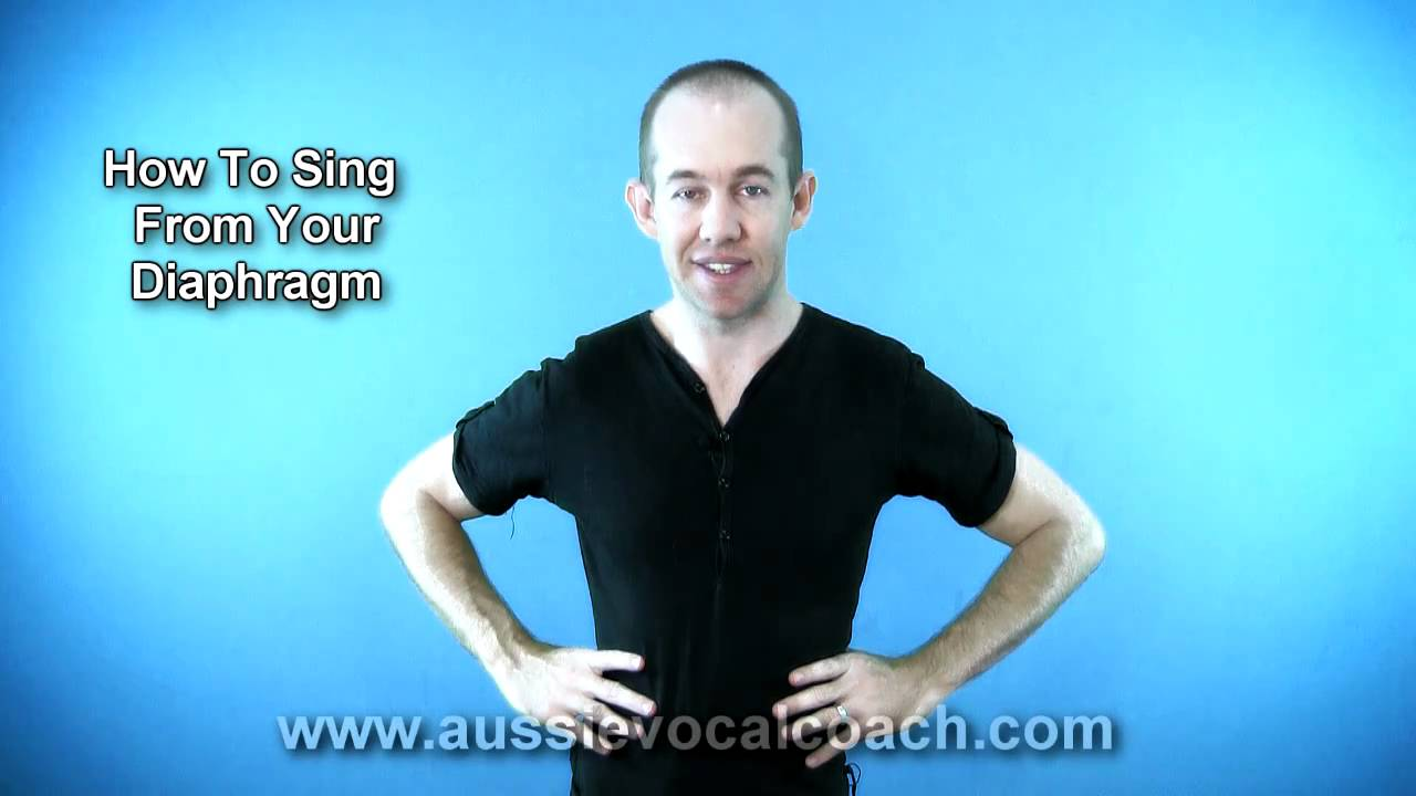 How 2 Sing From Your Diaphragm - YouTube