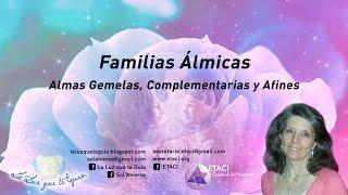 FAMILIAS ALMICAS  ALMAS AFINES, GEMELAS COMPLEMENTARIAS Y GEMELAS
