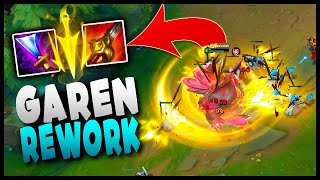 What has Riot done with this new Garen Rework?!