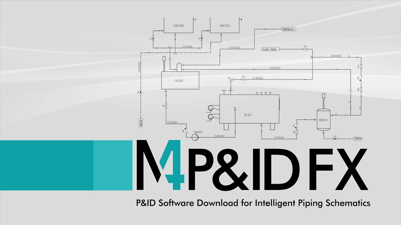 P&ID Software Download for Intelligent Piping Schematics - M4 P&ID ...