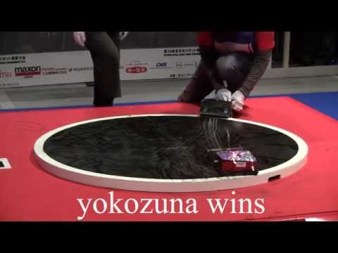 all japan robot sumo 2014
