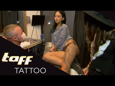 COVER-UP für BRANDNARBE? Cover-Up mit Ronja Block | taff Tattoo | ProSieben