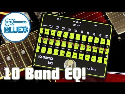 Caline 10 Band EQ Pedal CP-24