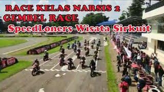 Gambar cover Race Kelas Narsis 2 Gembel Race SpeedLoners Wisata Sirkuit Sentul internasional Karting