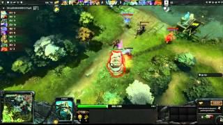 iG vs Na`Vi - Game 2, Winner Bracket Semifinals - The International - Russian Commentary
