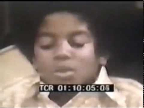 RARE - Michael Jackson Backstage Interview