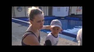 Дельфины и морские котики подарили особенным детям увлекательное шоу