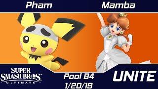 Unite Pool B4 Round Robin pham (Pichu/Donkey Kong) vs Mamba (Daisy)